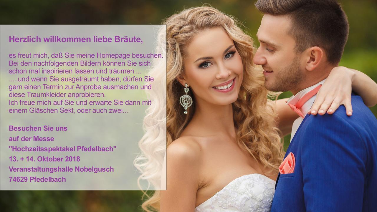 Brautkleider Eberstadt - Brautstudio Estelle: Hochzeitskleider, Dessous, Brautmodengeschäft, Unterwäsche, Accessoires